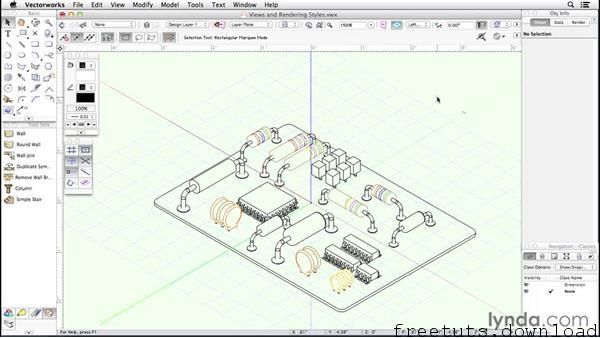 Learning Vectorworks, FreeTuts Download