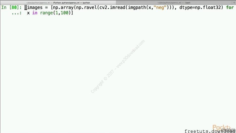 Machine Learning with Open CV and Python Free Download Packt Tutorials