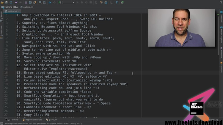 Java and Android IntelliJ Wizardry Lite with Heinz Kabutz, FreeTuts Download