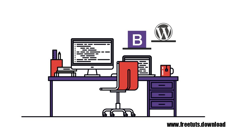 WordPress Theme Developer Academy with Bootstrap, FreeTuts Download