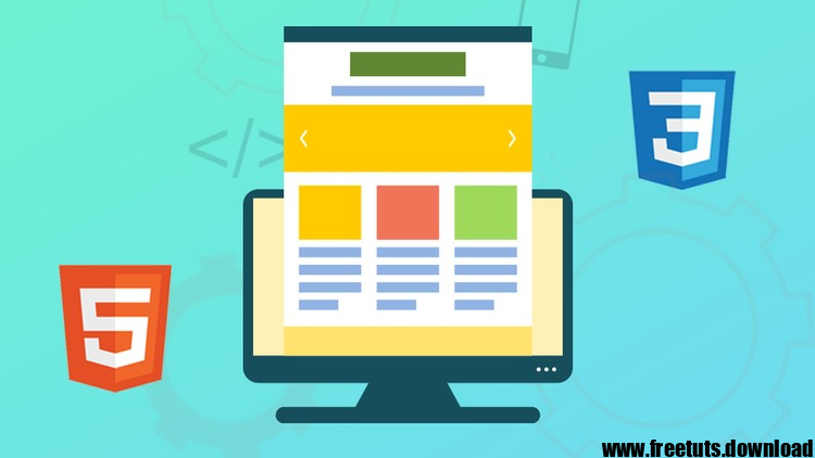 Build Real World Websites from Scratch using HTML5 and CSS3, FreeTuts Download