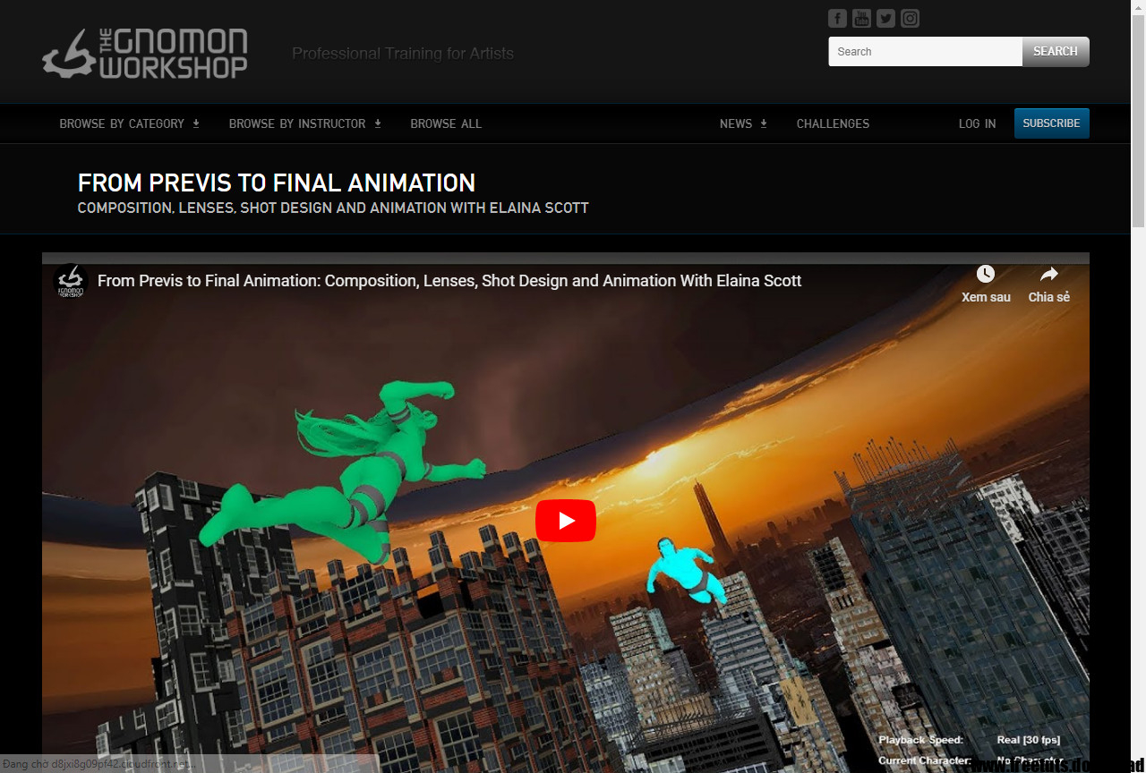 Download Courses - FROM PREVIS TO FINAL ANIMATION | Free