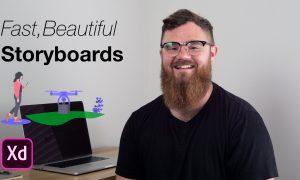 Create Easy, Fast, & Beautiful storyboards in Adobe XD, FreeTuts Download
