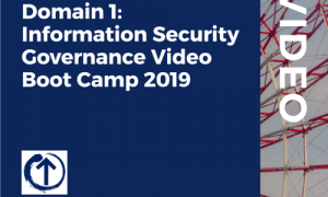 CISM Certification Domain 1 – Information Security Governance Video Boot Camp 2019, FreeTuts Download