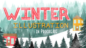 Winter Illustrations in Procreate 27 Brushes and Stamps, FreeTuts Download