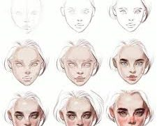 PROCREATE- Tips to draw faces and heads, FreeTuts Download