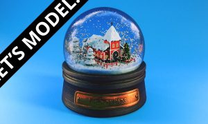 Creating A Snow Globe With Blender, FreeTuts Download
