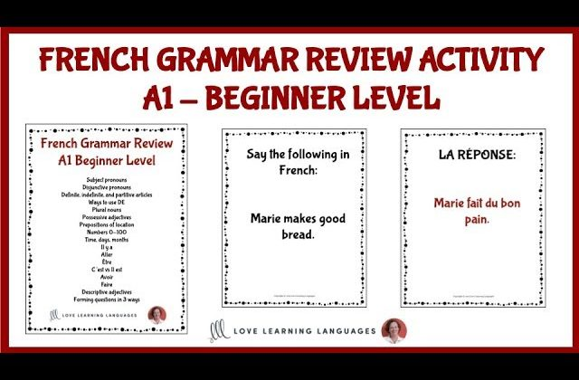 Mastering French Delf A1 – a2 Grammar And Vocabulary, FreeTuts Download