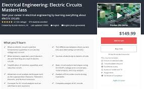 Complete Electric Circuits Course for Electrical Engineering (updated 9 – 2020), FreeTuts Download
